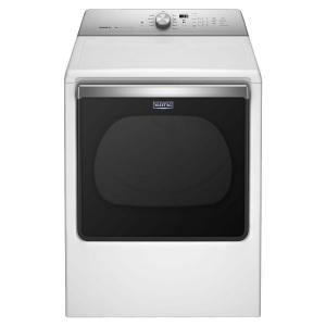Maytag 8.8 cu. ft. 240-Volt White Electric Vented Dryer with Advanced Moisture Sensing, ENERGY STAR-MEDB835DW - The Home Depot