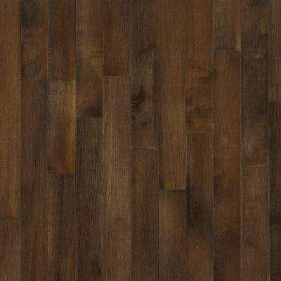 Cappuccino Maple 3/4 in. Thick x 3-1/4 in. Wide x Varying Length Solid Hardwood Flooring (22 sq. ft. / case)