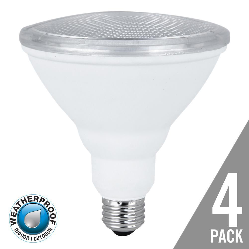 75W Equivalent Warm White PAR38 Spot LED Light Bulb Maintenance Pack (4-Pack)