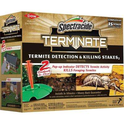 Terminate Termite Detection and Killing Stakes (15-Count)