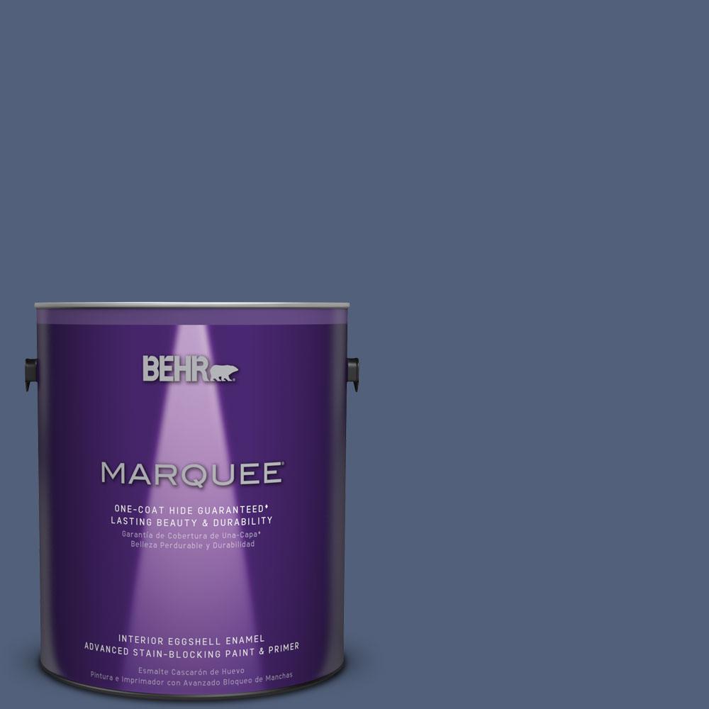 1 gal. #S530-6 Extreme One-Coat Hide Eggshell Enamel Interior Paint