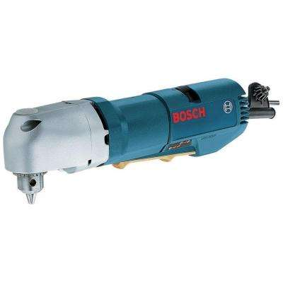 3.8 Amp Corded 3/8 in. Compact Variable Speed Right Angle Drill with Keyed Chuck