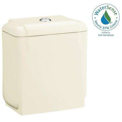 Rockton 0.8/1.6 GPF Dual Flush Toilet Tank Only in Biscuit