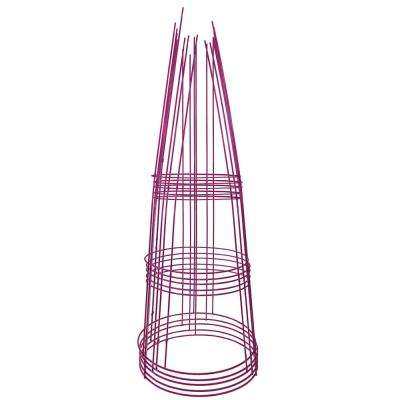42 in. Heavy-Duty Purple Tomato Cage (5-Pack)