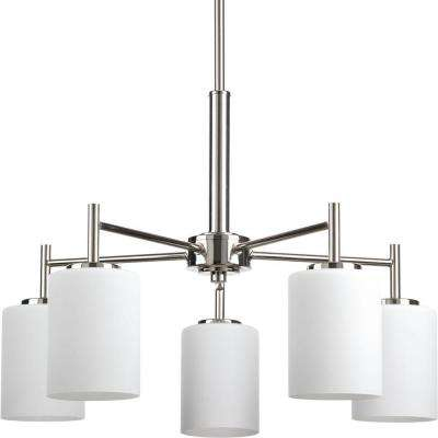Replay Collection 5-Light Polished Nickel Chandelier