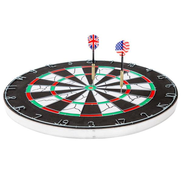 17/'/'Dart Board Tip Double Sided Hanging Dartboard Portable Family Game Darts Set