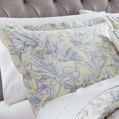 Lillian Butter Euro Pillow Sham