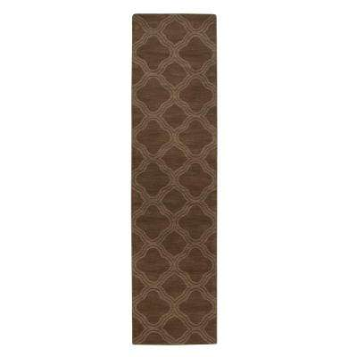 Morocco Taupe 3 ft. x 10 ft. Runner Rug