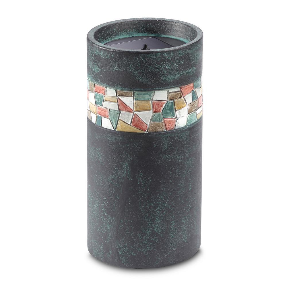 Murano Solar-on-Demand Column Fountain