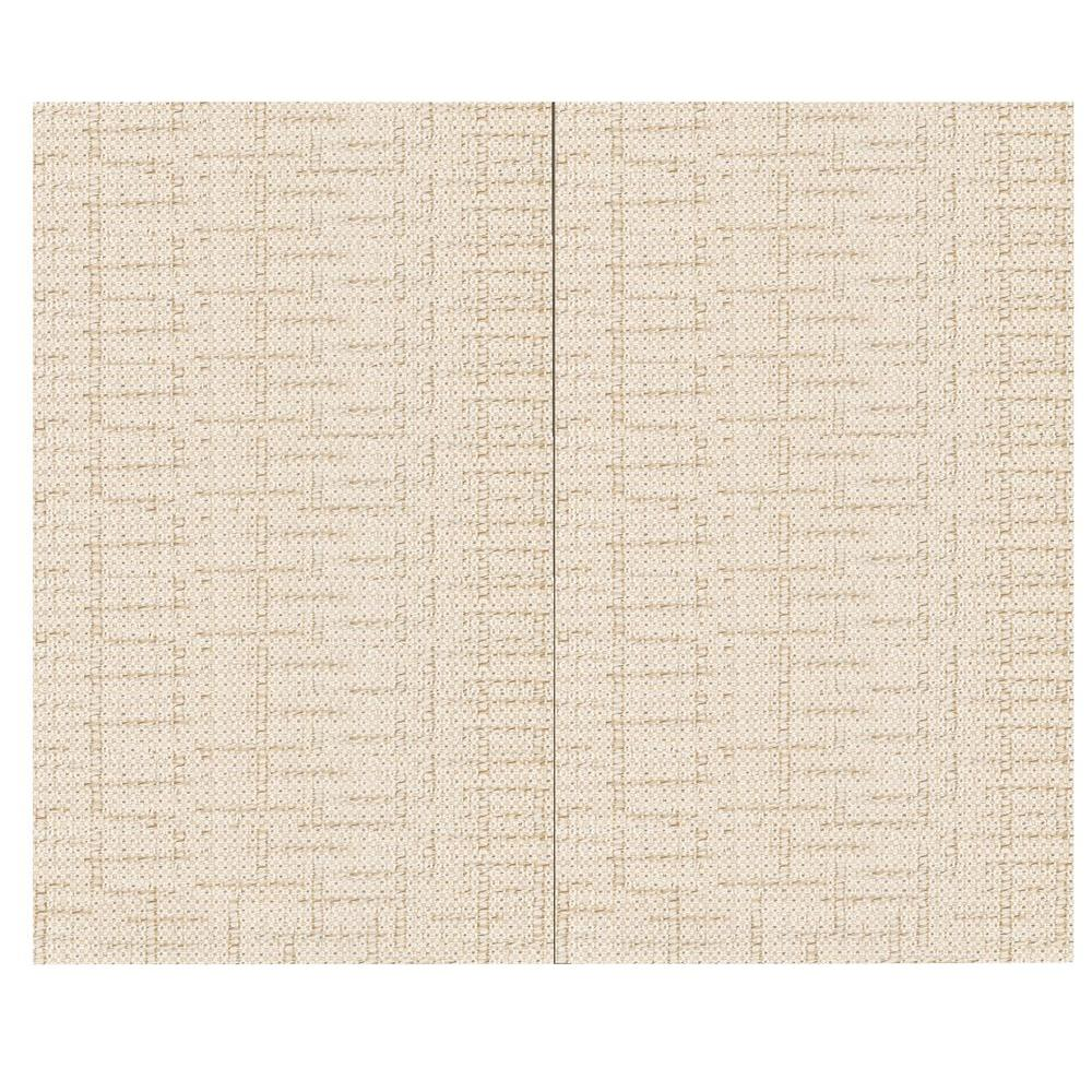 SoftWall Finishing Systems 44 sq. ft. Crosstown Ray Fabric Covered Top Kit Wall Panel