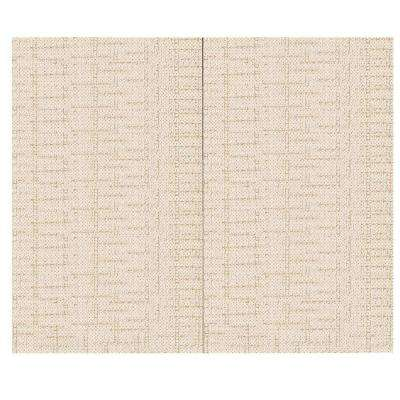 44 sq. ft. Crosstown Ray Fabric Covered Top Kit Wall Panel