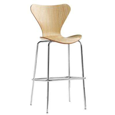 45.5 in. Natural Jays Bar Stool