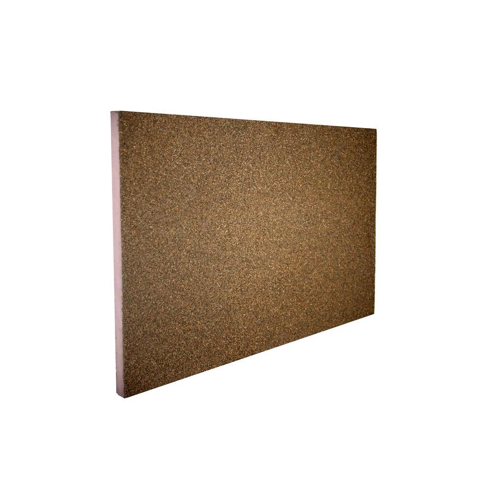 STYRO Industries FP Ultra Lite 2 in. x 2 ft. x 4 ft. Earth Tone Brown Foundation Panel
