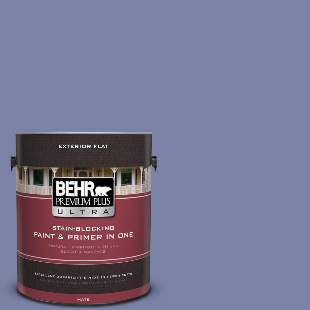 BEHR Premium Plus Ultra 1-gal. #620D-5 Romanesque Flat Exterior Paint