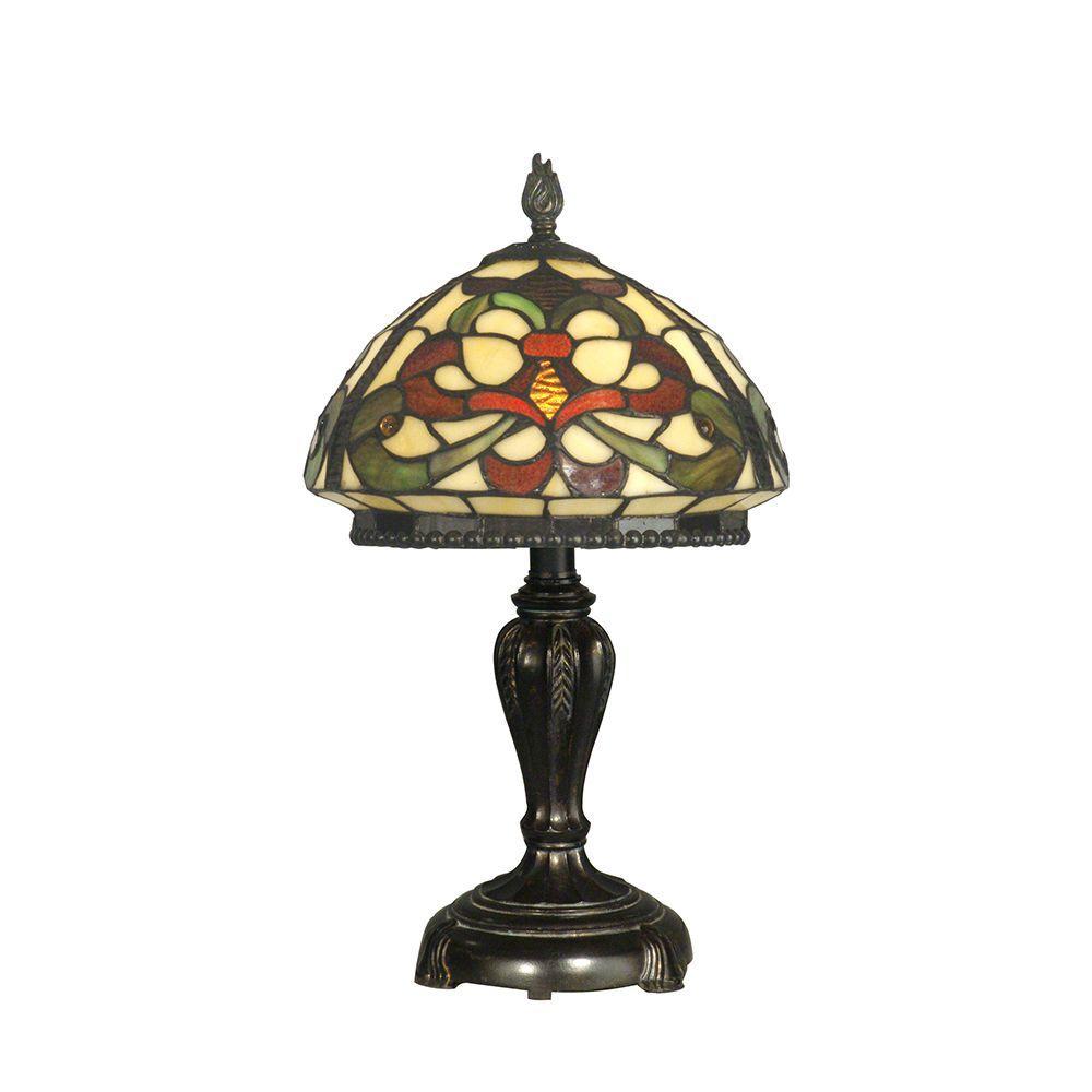 19 in. Baroque Style Fieldstone Table Lamp