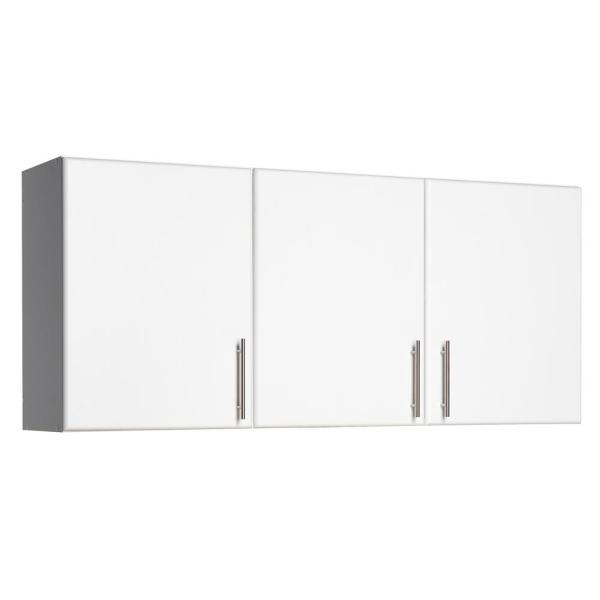Prepac Elite 54 in  3-Door Wall Cabinet in White WEW-5424