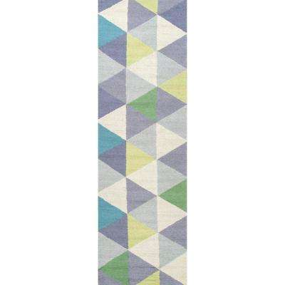 Anderson Green 2 ft. 6 in. x 8 ft. Runner Rug