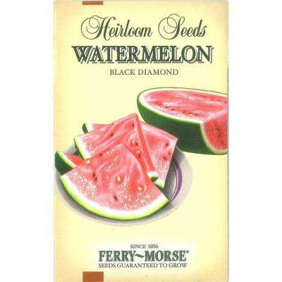 Watermelon Black Diamond-Heirloom Seed