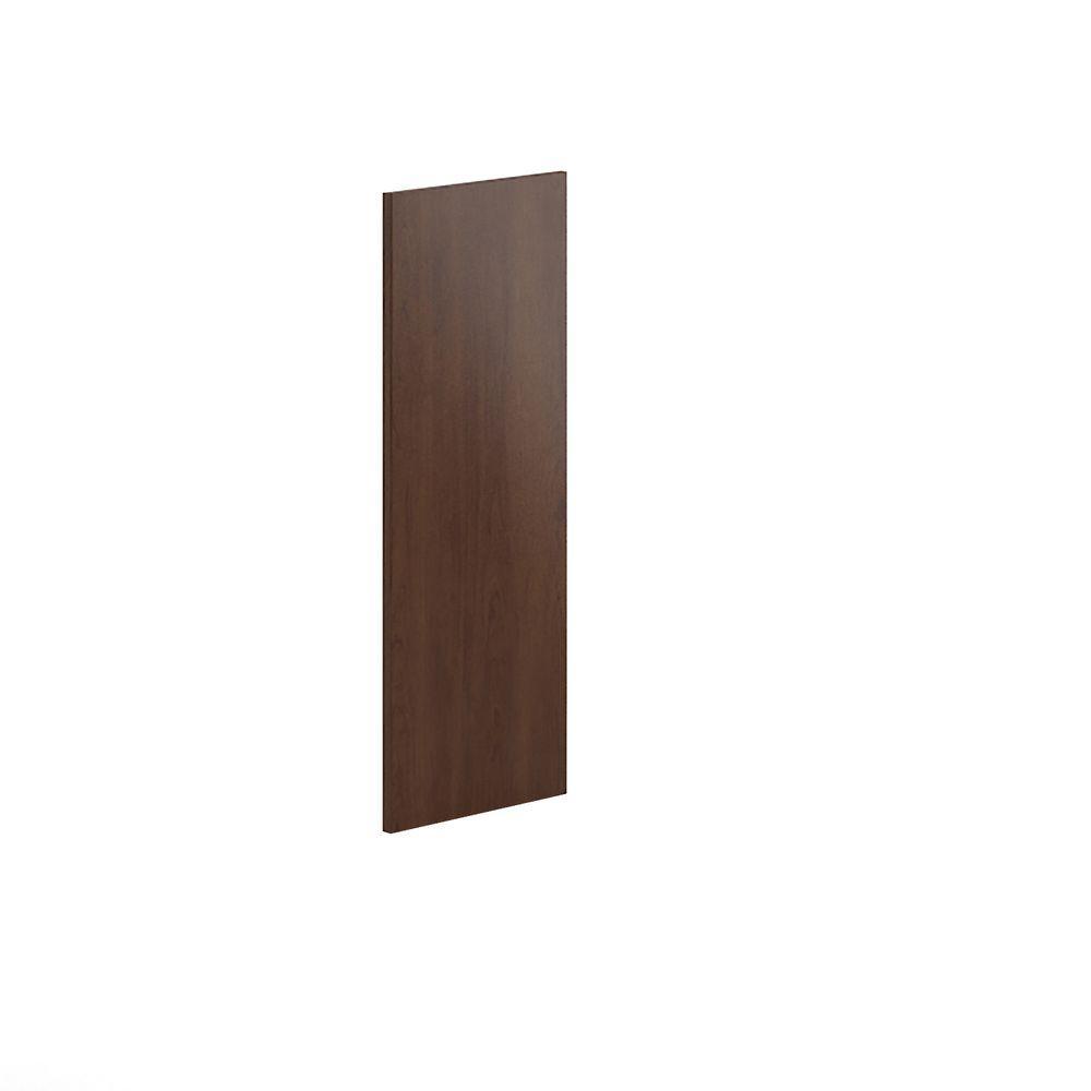 12x30x0.75 in. Replacement End Panel in Reddish Brown Veneer