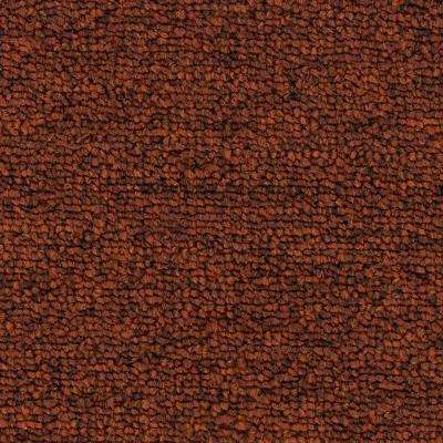 Carpet Sample - Main Rail 26 - Color Caynenne Texture 8 in. x 8 in.