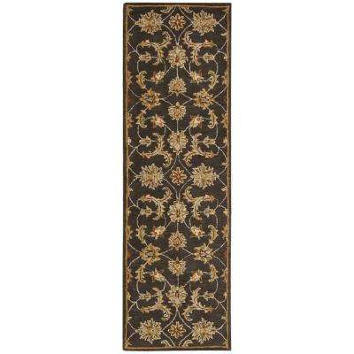 India House Charcoal 2 ft. 3 in. x 7 ft. 6 in. Runner