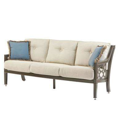 White - Outdoor Sofas - Outdoor Lounge Furniture - The Home Depot