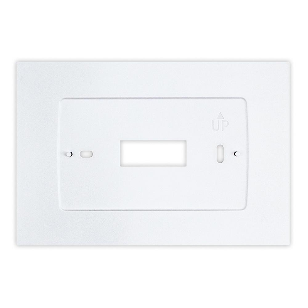 Wall Plate for Sensi Touch Wi-Fi Thermostat in White