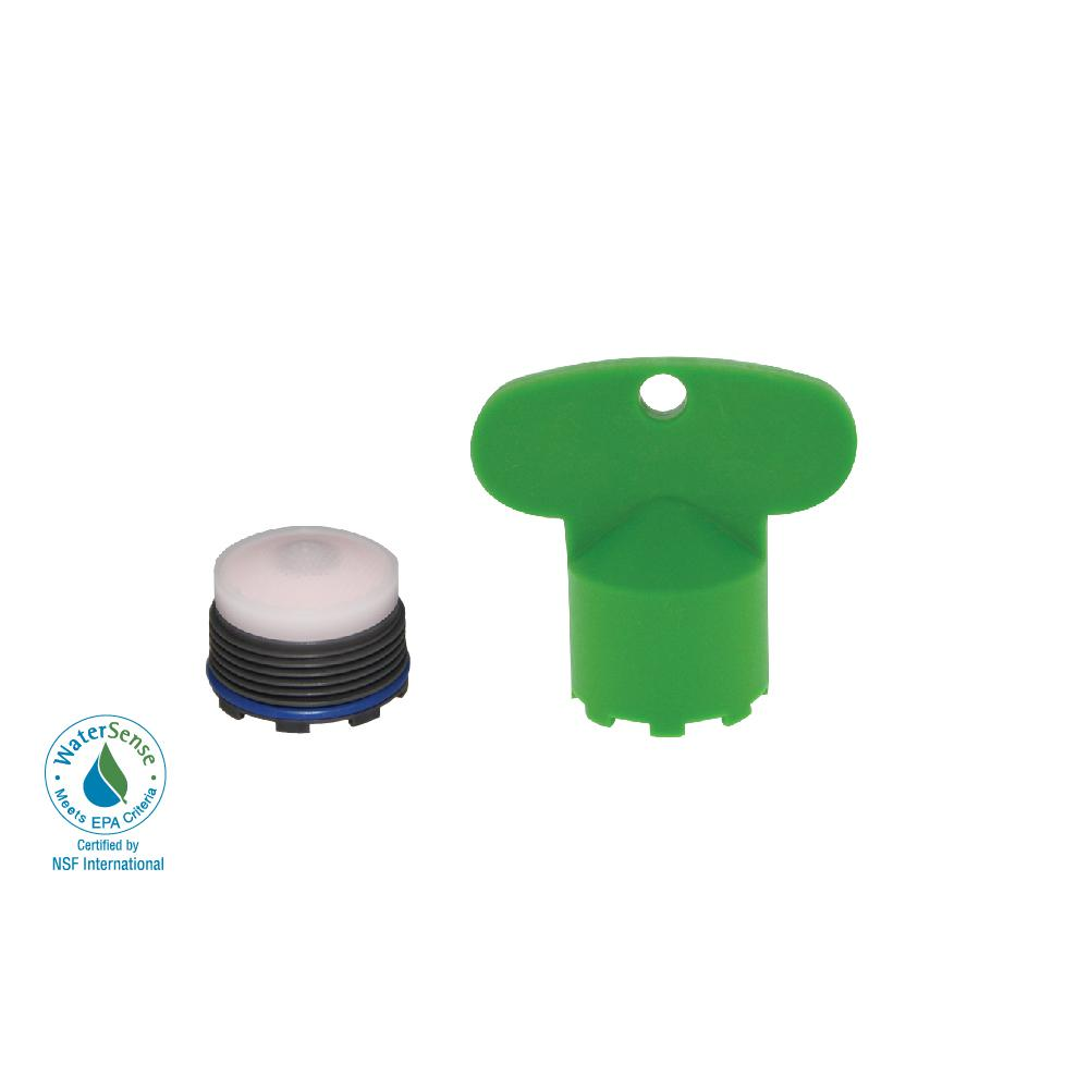 1.2 GPM Tiny Junior PCA Cache Water-Saving Aerator with Key