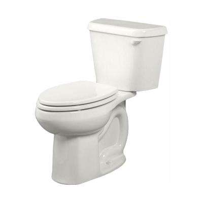 Colony 2-piece 1.28 GPF Tall Height Elongated Toilet in White with Right-Hand Trip Lever, Seat Not Included