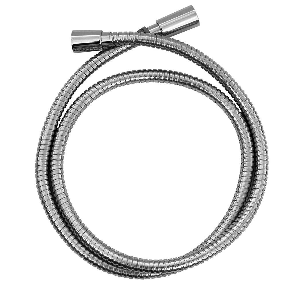 60 in. Hand Shower Hose in Polished Chrome