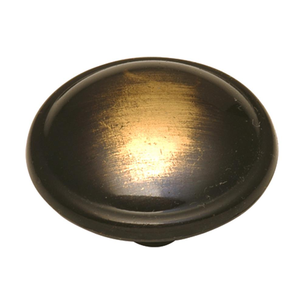 Cavalier 1-1/4 in. Antique Brass Cabinet Knob