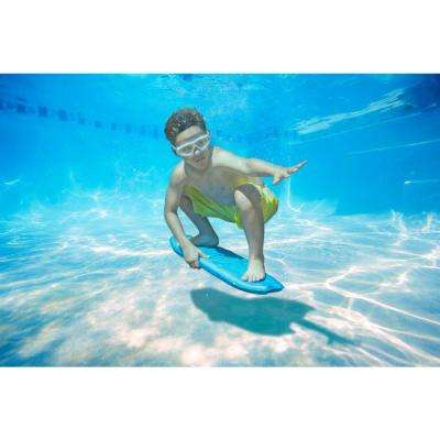 Underwater Surf Board in Blue