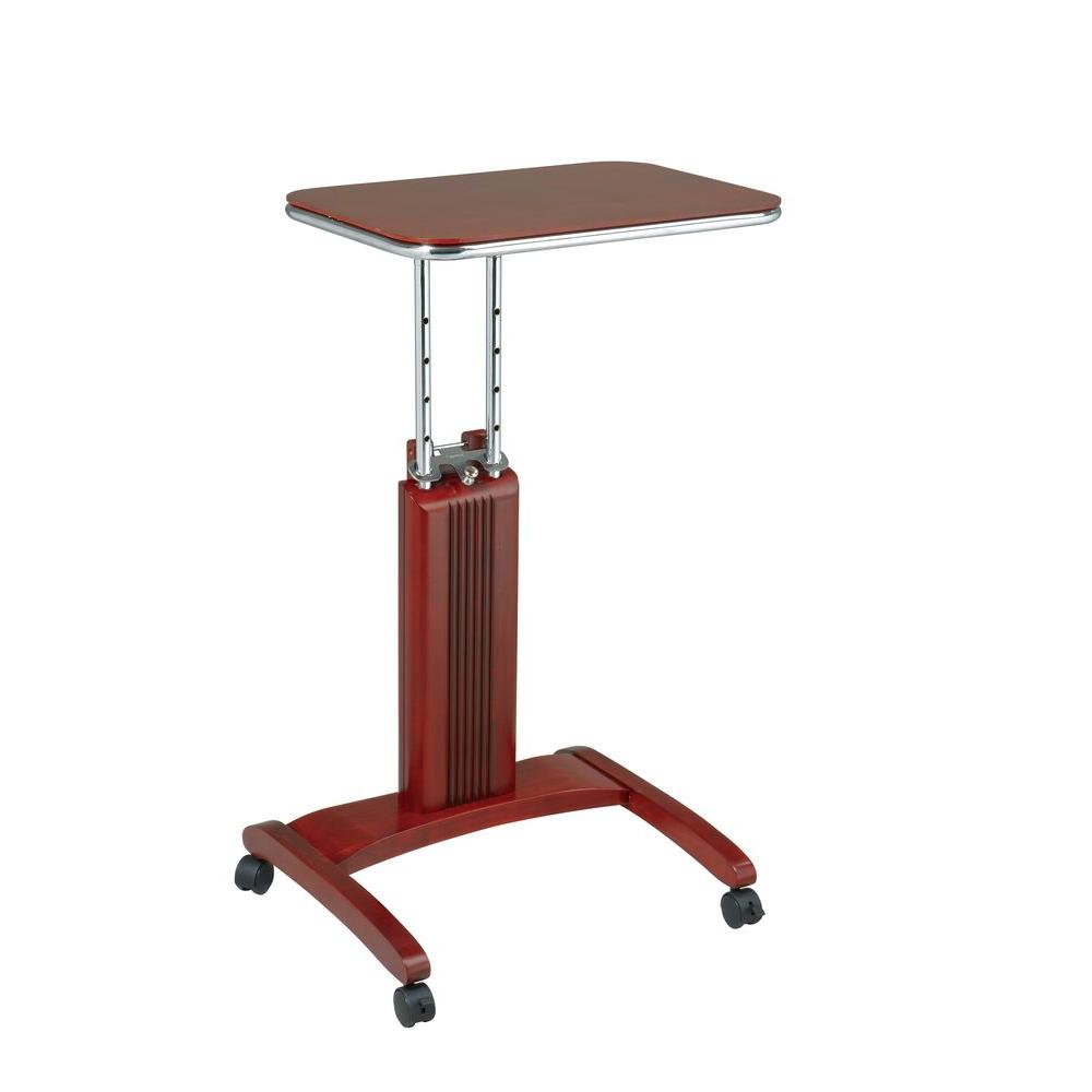 OSPdesigns Precision Cherry Laptop Stand with Wheels