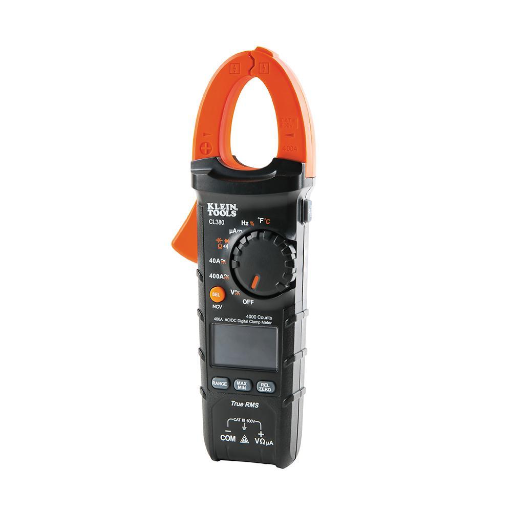 Klein Tools 400 Amp Auto-Ranging AC/DC Digital Clamp Meter