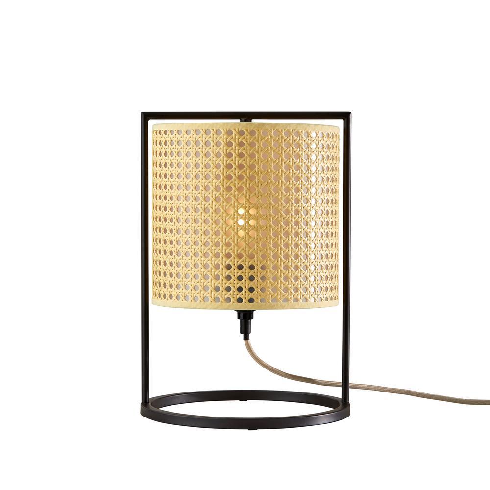 Fern 14.25 in. Antique Bronze Table Lantern