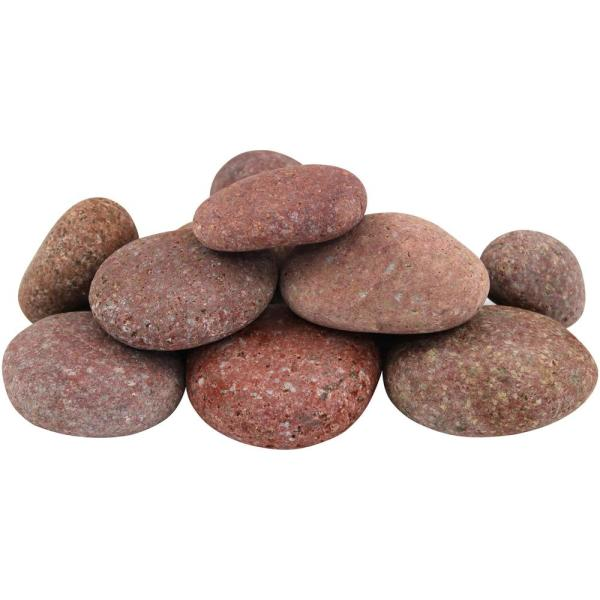 Margo Garden 0.4 cu. ft. 1 in. to 3 in. Rosa Mexican Beach Pebble (54-Pack Pallet)