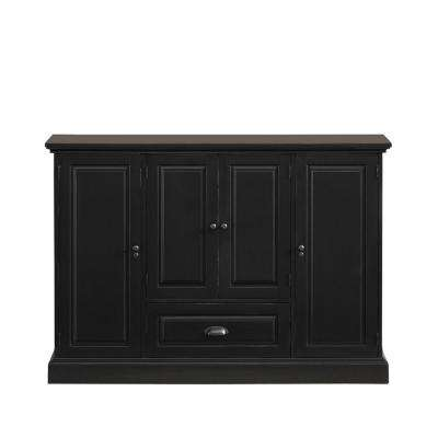 Carlotta Antique Black Buffet
