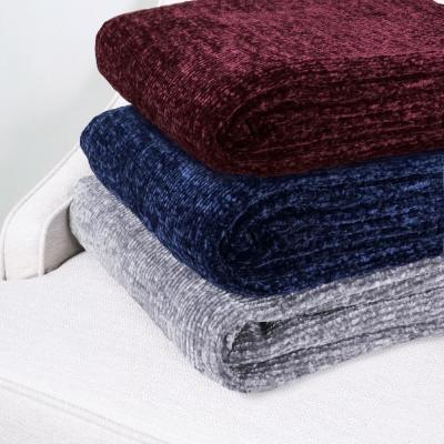 Allied Home Chenille Throw Dt001109a The Home Depot