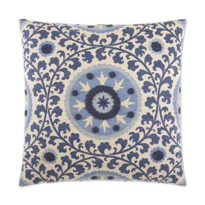 Tillie Bronze Feather Down 24 in. x 24 in. Decorative Throw Pillow