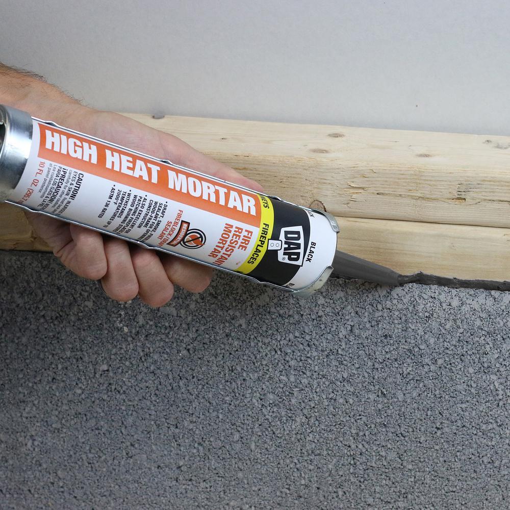 Dap 10 1 Oz Black High Heat Mortar