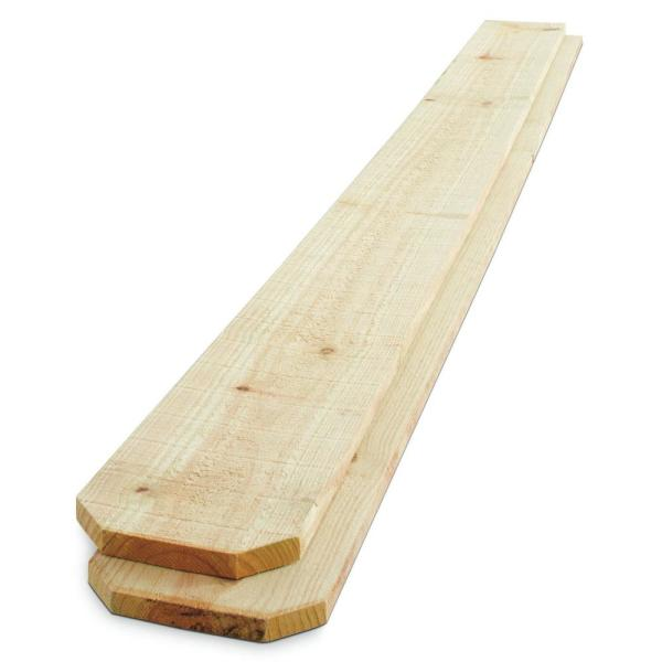 6 Ft X 8 Ft Pressure Treated Pine Board On Board Fence Panel 106586 The Home Depot Fence Panels Fence Cool House Designs
