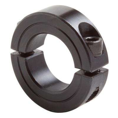 1-1/2 in. Bore Black Oxide Coated Mild Steel Clamp Collar