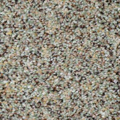 Carpet Sample - Nevada - Color Grass Valley Texture 8 in. x 8 in.