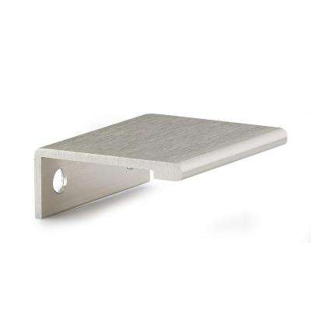 33 Mm Satin Nickel Contemporary Metal Edge Cabinet Hardware Pull
