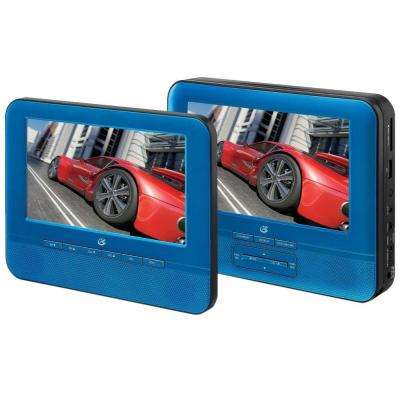 7 in. Dual Screen Portable DVD Player