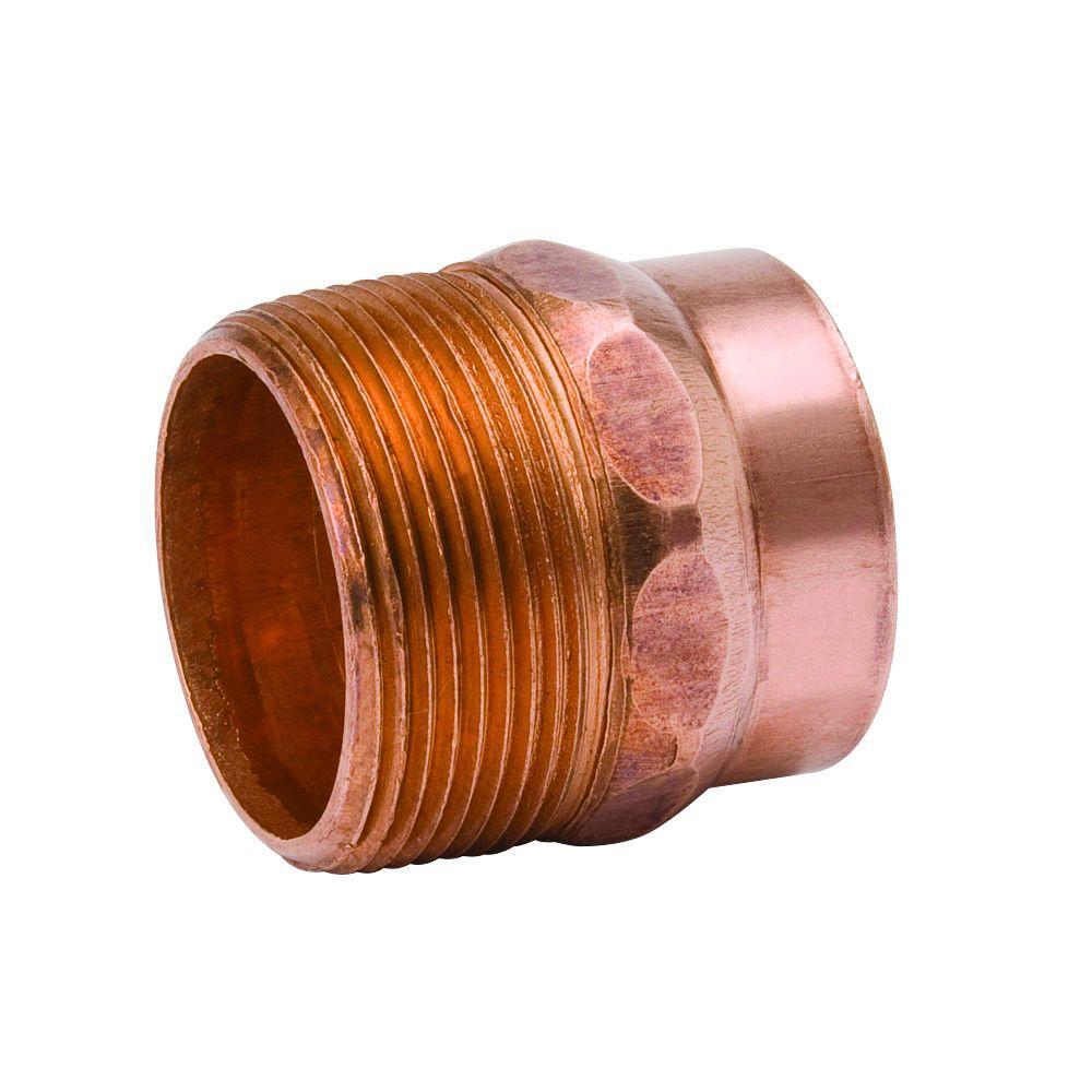 1-1/2 in. Copper DWV C x MPT Male Adapter