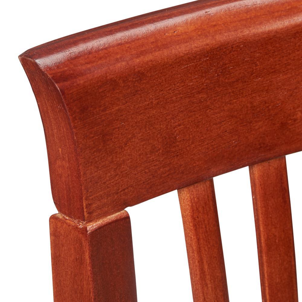 Astounding Linon Home Decor Triena Craftsman Counter Stool 01857Dkchy Frankydiablos Diy Chair Ideas Frankydiabloscom