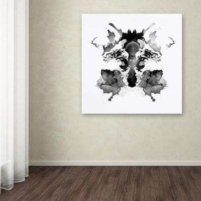 """35 in. x 35 in. """"Rorschach"""" by Robert Farkas Printed Canvas Wall Art"""