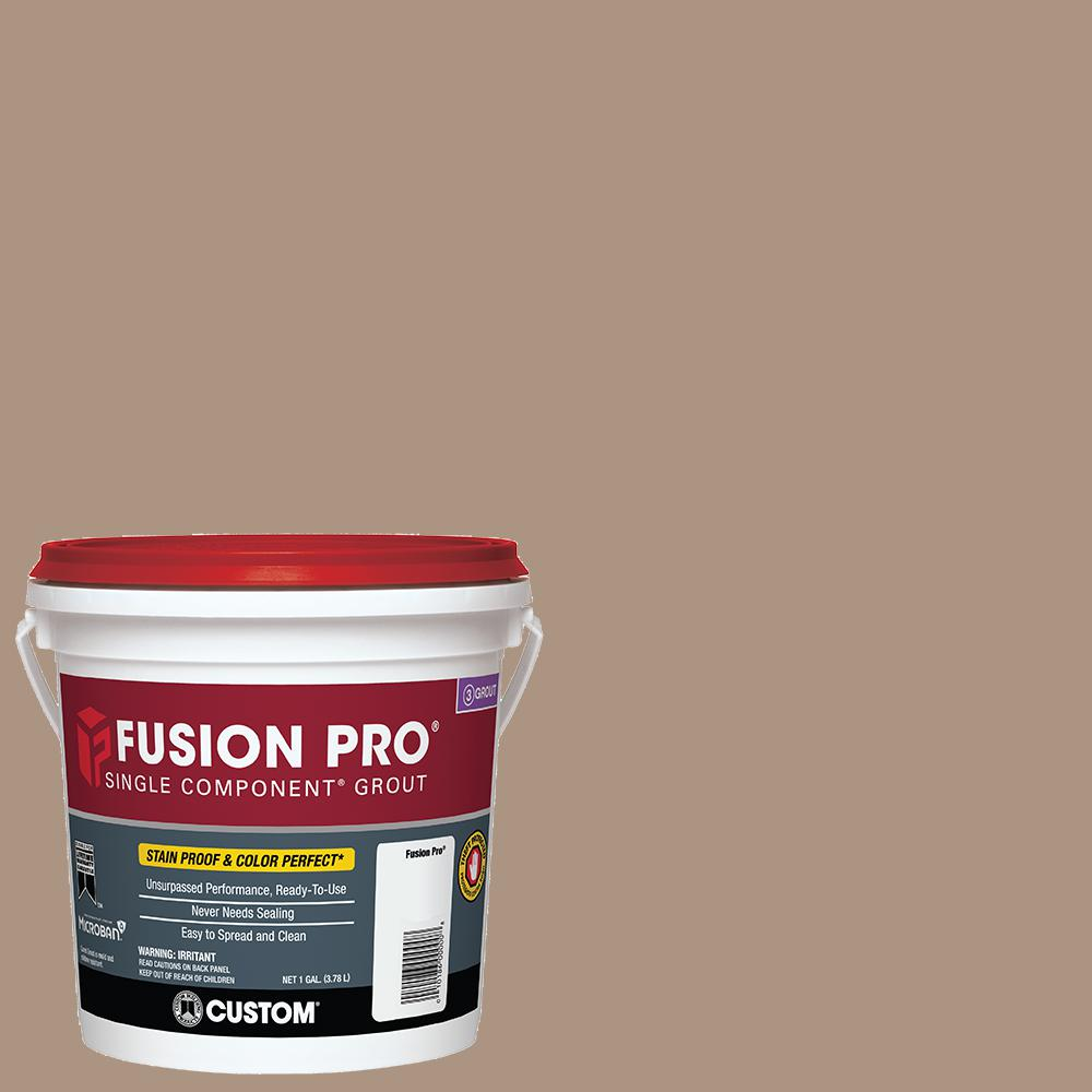 Custom Building Products Fusion Pro #135 Mushroom 1 Gal. Single Component Grout