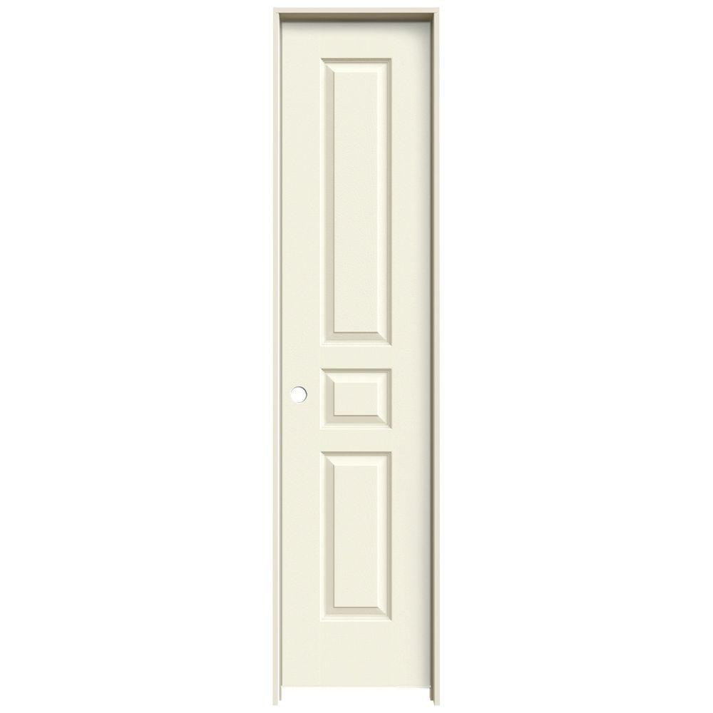 Jeld Wen 18 In X 80 In Avalon Vanilla Painted Right Hand